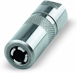 "Lumax LX-1400-2 Silver 1/8"" NPT Standard Grease Coupler (Pack of 2)"
