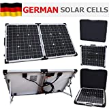 80W 12V Photonic Universe portable folding solar charging kit with protective case and 5m cable for a motorhome, caravan, campervan, camping, car, van, boat, yacht or any other 12V system