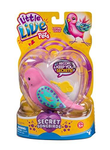 Little Live Pets 28395 Loyal Lulu - Juguete para pájaros