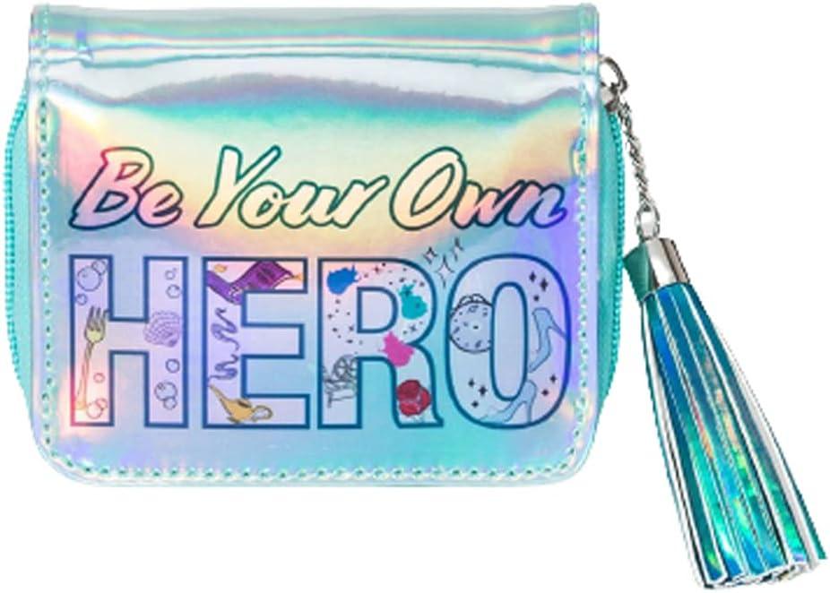 Girl's Charlotte Mall Princess Popular brand Zip - Teal Wallet