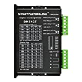 STEPPERONLINE CNC Stepper Motor Driver 1.0-4.2A 20-50VDC 1/128 Micro-Step Resolutions for Nema 17 and 23 Stepper Motor