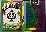 2nd Edition Rare Bicycle Tie Dye 2 Deck Playing Cards Tye Die Magic