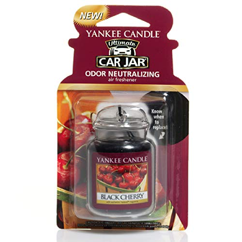 Yankee Candle 1221000E Auto-Lufterfrischer, Auto Jar Ultimate, Black Cherry