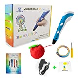 VICTORSTAR Pluma 3D - Una bolígrafo 3D para niños y niñas muy creativos