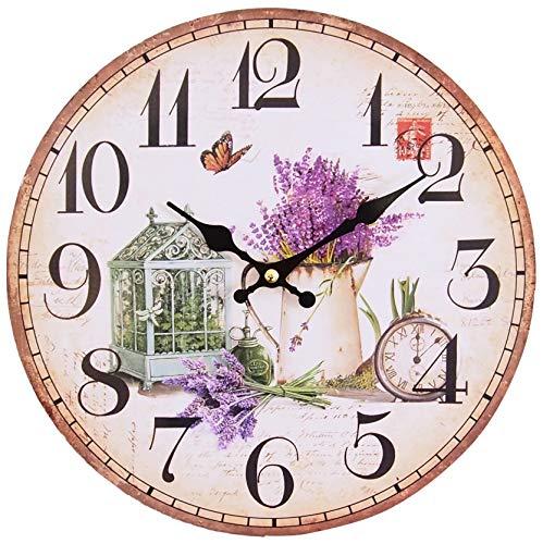 Perla PD Design, Orologio da parete, orologio da cucina, vintage design circa...
