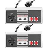 Linbonio NES Controller - [Original Nintendo NES system] Pack of 2