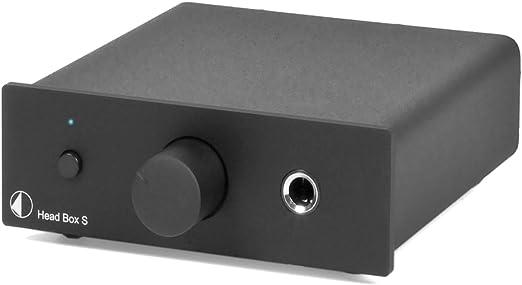Pro Ject Head Box S Dedicated Headphone Amplifier Black Mp3 Hifi