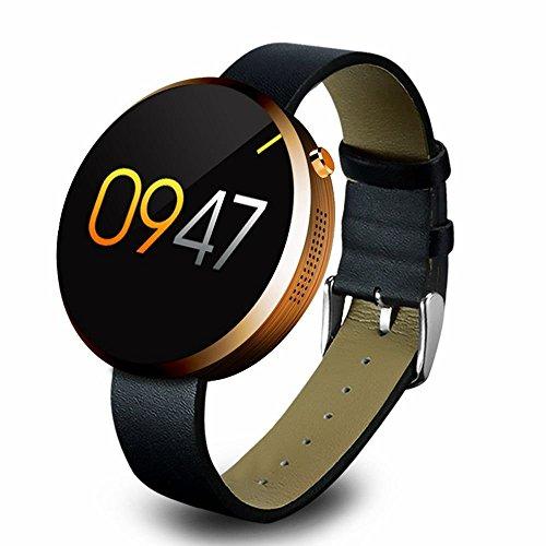 ZZY El último Reloj Elegante de la Nueva Marca, Smartwatch con la Pantalla del Monitor IPS y la frecuencia Cardíaca para los teléfonos Androides iOS iPhone Huawei HTC y los teléfonos Inteligentes