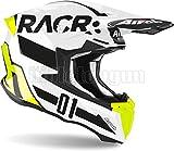 AIROH TW2RA17 CASCO MOTO CROSS GLOSS TWIST 2.0 RACR SZ. M