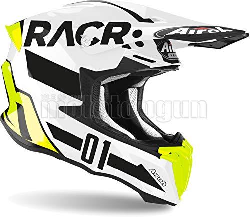 AIROH TW2RA17 CASCO MOTO CROSS LUCIDO TWIST 2.0 RACR TG.XS
