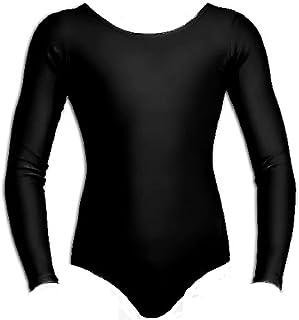4fb0a43b24292 Momo&Ayat Fashions Children Girls Shiny Lycra Stretch School Sport Dance or  Gymnastics Leotard Age 3-