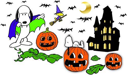 Eureka Peanuts Back to School Classroom Supplies Halloween Special Bulletin Board Set, 18'' x 28'', 46 pc.