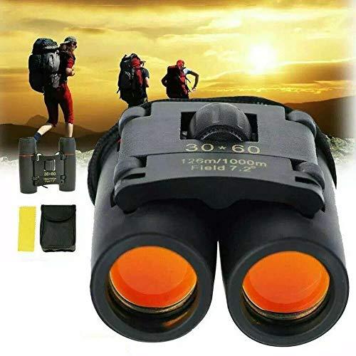 Binoculars 30x60 Zoom Outdoor Travel Compact Folding Telescope Hunting Day/Night-Night Vision Binoculars-Small Binoculars-Binoculars with Camera-Binoculars Night Vision and Day-Binocular case