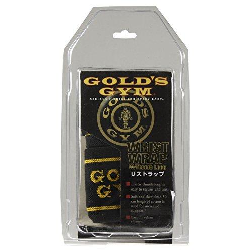 ゴールドジム(GOLD`SGYM)ループ付きリストラップG3511【初心者~プロ対応】手首の補助鍛えたい部位の集中トレーニングベンチプレスショルダープレスチェストプレス【ゴールドジム正規品ゴールドジムトレーナー愛用】