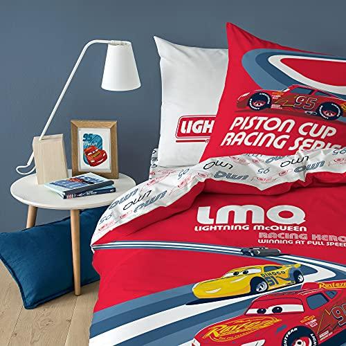 Juego de cama infantil 100% algodón, funda nórdica de 140 x 200 cm y 1 funda de almohada de 63 x 63 cm