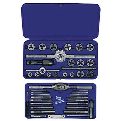 IRWIN Tools Metric Tap and Hex Die Set, 41-Piece (26317)