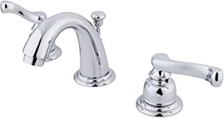 """Kingston Brass KB911FL Mini-Widespread Lavatory Faucet with Retail Pop-Up, 3-3/4"""", Polished Chrome"""