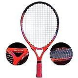 Chunjiao Raquette de Tennis Enfants Head Débutant Enfants École élémentaire Jardin d'enfants 3-12 Ans Adulte (Color : Orange, Size : 23 inches)