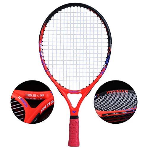 Chunjiao Raqueta de Tenis Kinder Kids Cabeza Principiante Escuela Primaria Niños 3-12...