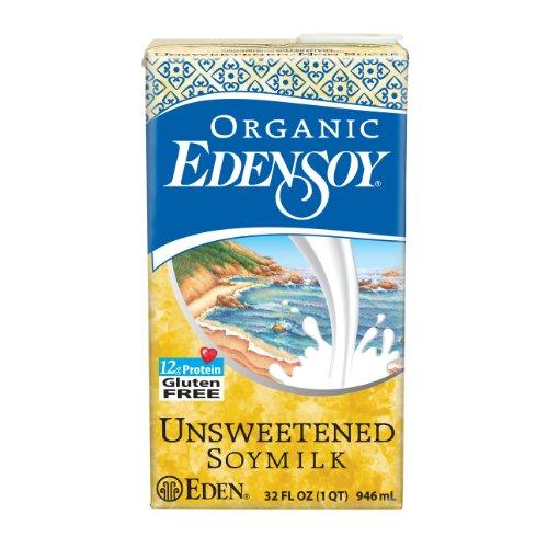 powerful Eden sugar-free organic soymilk, 32 ounces (6 packs)