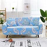 WXQY Funda de sofá de impresión Creativa de Estilo Europeo, Alta Elasticidad, Antideslizante y Duradera, Funda de sofá Funda de sofá A11 2 plazas