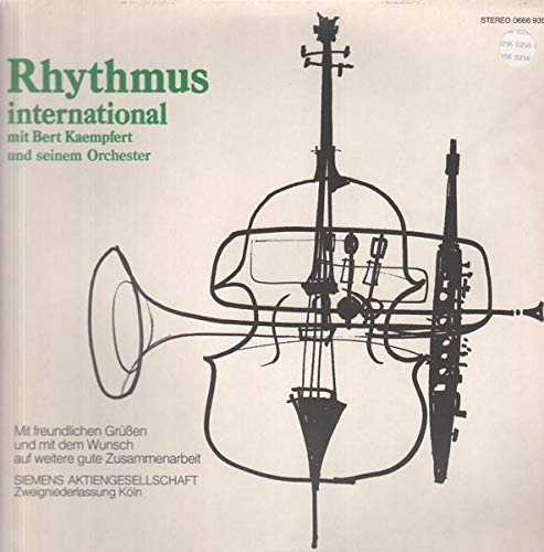 Bert Kaempfert & His Orchestra - Rhythmus International - Polydor - 0666 935, Siemens AG Zweigstelle Köln - 0666 935