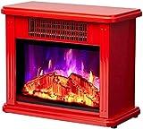 750 1500W Tragbare Elektroherdheizung Freistehendes Fortschrittliches Heizsystem Sofortige Warme Realistische 3D-Flamme Und Leiser Ventilator - 37 * 17 * 30 cm