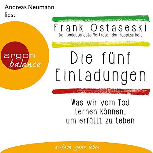 Die fünf Einladungen audiobook cover art