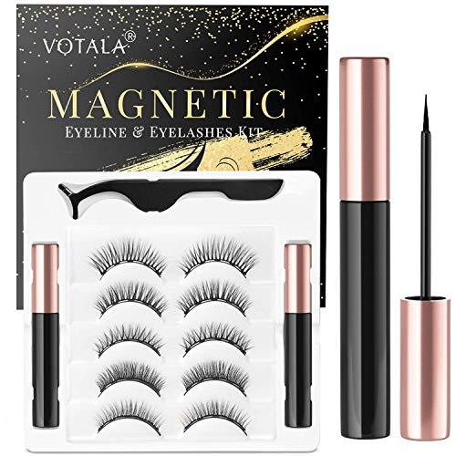 Votala Magnetic Eyelashes and Magnetic Eyeliner Kit