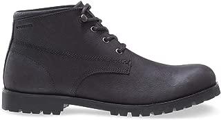 1883 by Wolverine Men's Cort Chukka Boot, Black, 9 M US