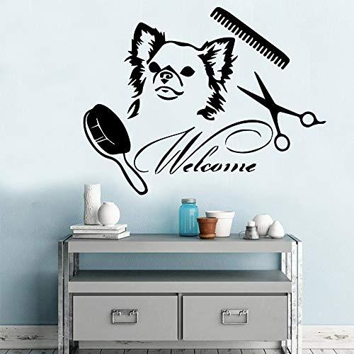 yaonuli muurtattoos voor het verzorgen van dierenvacht, impregneert de muurstickers voor muurschilderingen, huisdierdecoratie
