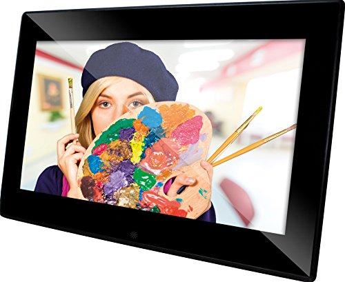 Rollei Degas DPF-90 digitaler Bilderrahmen (24,6 cm (9,7 Zoll) TFT-LCD, 1024 x 768 Pixel) schwarz