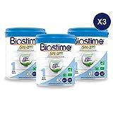 Biostime SN-2 Bio Plus - Lait infantile Bio 1er âge en poudre de 0 à 6 mois (800g) - Lot de 3