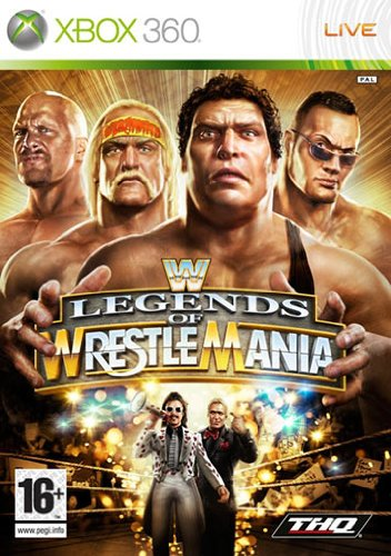 WWE Legends Of Wrestlemania [Importación italiana]