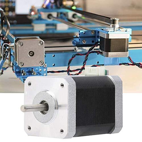 ZUQIEE Stepper Motor Bipolar Stepper Motor, Nema 17 Bipolar Stepper Motor 1.8° 700mN.m/99oz.in for DIY 3D Printer 60mm DC3.6V 1.5A