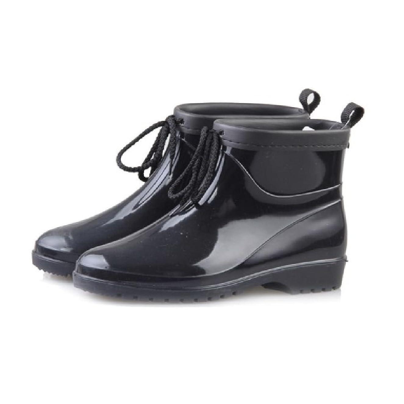 大きいギャップ効果的[ヘブンデイズ] Heaven Days レインシューズ レインブーツ ショート 雨靴 ドット柄 レディース 1704B0408