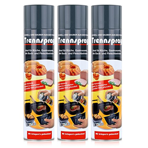 boyens Trennspray 600ml Dose (3er Pack) Trennfett Grillspray Backtrennmittel