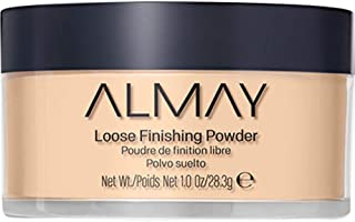 Almay Loose Finishing Powder, Natural Finish Mattifying Makeup Setting Powder, Hypoallergenic, Cruelty Free, Fragrance Fre...
