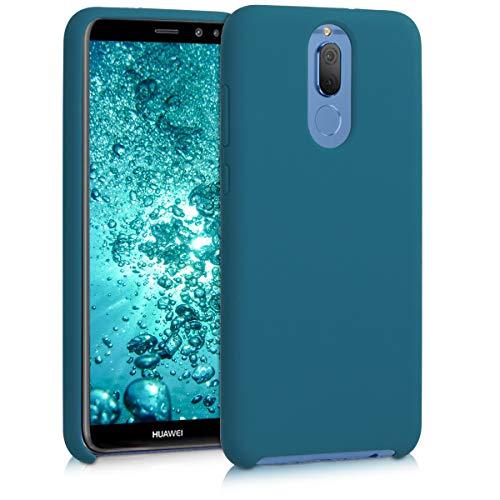 kwmobile Huawei Mate 10 Lite Hülle - Handyhülle für Huawei Mate 10 Lite - Handy Case in Petrol matt