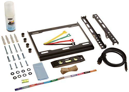 Xtreme 18714 7-Piece Ultra Slim Fixed TV Wall Mount Kit 23-42 Inches