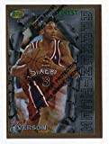 ALLEN IVERSON 1996 Topps FINEST basketball ROOKIE CARD RC #69 - 76ers - Basketball Slabbed Rookie Cards. rookie card picture