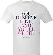 Little Art Men's Love Quotes Amy Poehler T-Shirt