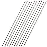 10 elettrodi di tungsteno da 1,5 mm x 150 mm per saldatura