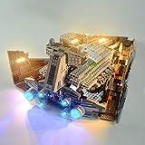 TMIL Iluminación De Fondo Compatible con Lego 75055, LED Light Kit para (Star Wars Imperial Destructor Estelar) Building Blocks (Lego Set No Está Incluido)