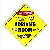 Adrian de la habitación Sign niños dormitorio decoración puerta nombre de los niños Boy niña regalo