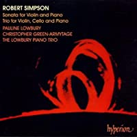 Simpson: Sonata for Violin and Piano: Trio for Violin, Cello and Piano by R. Simpson (1995-05-23)