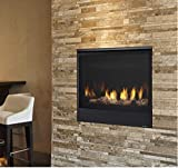 Majestic Quartz QUARTZ32IN Direct Vent Natural Gas Burning Fireplace with Intellifire Ignition (32N)