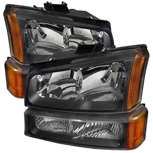 06 silverado black headlights - 4