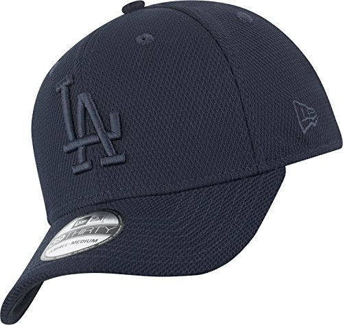 New Era Stretch Diamond 39Thirty Cap LA Dodgers Dunkelblau, Size:S/M