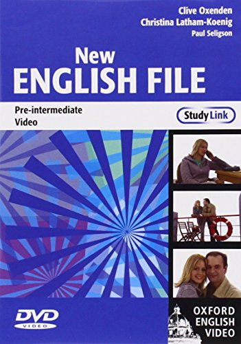 New English File: Pre-Intermediate StudyLink Video: Six-level general English course for adults